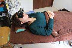 写真4:眼振検査